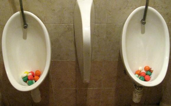 Gumball toilet cakes? Genius.