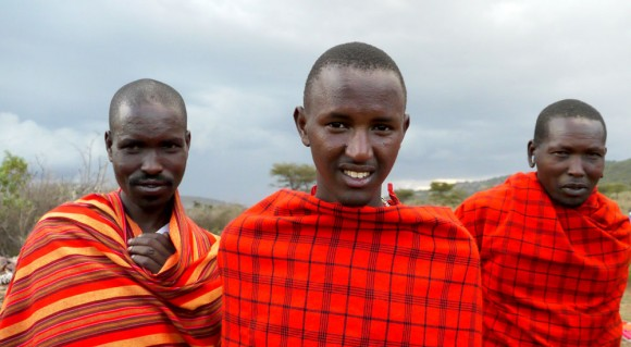 Maasai pastoralists