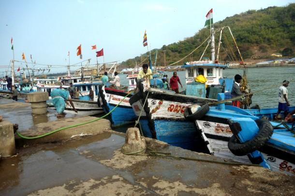Karwar harbor