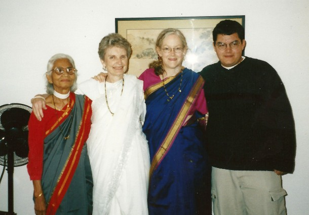 Mother, god mother and grand mother (right to left)